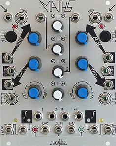 Make Noise Maths Version 2 (2013) is a BEAST of a module. It absolutely is the Swiss Army Knife of the Eurorack world.