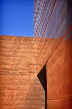 copper panel cladding.  Copper Haus   assemblageSTUDIO.