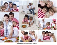 Couple and kids spending time together Image by Wavebreak Media