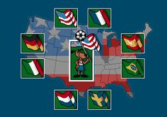 World Cup 94 - Megadrive  [ Presstart ] atari . snes . megadrive . playstation . xbox . ps3 . supernintendo . videogame . soccer . retro . classic . games . personalize . virtual