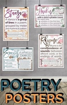 Terms Posters 18 beautiful classroom posters x to brighten up your classroom and reinforce poetry beautiful classroom posters x to brighten up your classroom and reinforce poetry terminology. Ela Classroom, Classroom Design, Future Classroom, English Teacher Classroom, Classroom Ideas, English Teachers, Classroom Resources, School Teacher, Middle School Writing