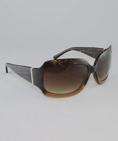 Love this Gradient Tortoise & Brown Glamour Sunglasses by Kenneth Cole Reaction on #zulily! #zulilyfinds