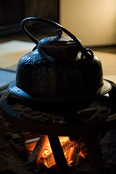 Water is the mother of tea, a teapot its father, and fire the teacher. ~Chinese Proverb