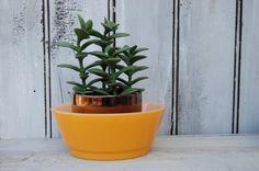 Orange Fire King Bowl Orange Bowl Orange by SweetPetuniaVintage