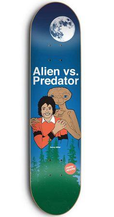 All time best skate graphics. Skateboard Deck Art, Skateboard Design, Skate Longboard, Longboard Decks, Cool Skateboards, Vintage Skateboards, Skate And Destroy, Skate Art, Alien Vs Predator