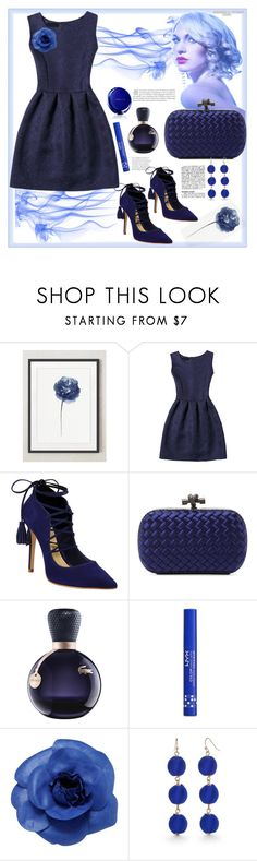 """Deep Blue Colour"" by natalyapril1976 ❤ liked on Polyvore featuring Schutz, Bottega Veneta, Lacoste, NYX, Chanel and New Directions"