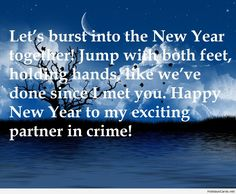 New year lovers sms message picture