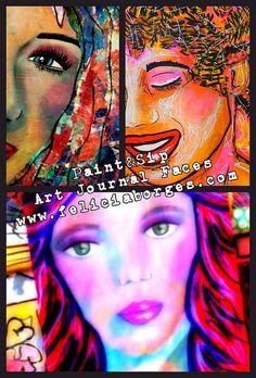 Art Journal Faces
