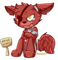 Foxy , solo desde 1987 .... cuando le mordió la cara de un niño ...
