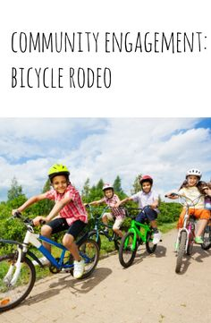 Bicycle Rodeo is a unique, hands-on, educational event in which participants learn about cycling techniques, obeying traffic signals and the laws of road use. Cub Scouts, Girl Scouts, Summer Safety, Kids Bike, Childrens Hospital, Safety Tips, Child Safety, Happy Kids, Healthy Kids