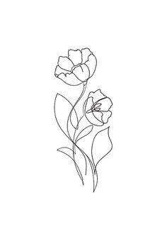 Flower Lines Poster in der Gruppe Poster & Prints / Illustrations bei Desenio . - Flower Lines Poster in der Gruppe Poster & Prints / Illustrations bei Desenio … – - Line Art Tattoos, Cute Tattoos, Tattoo Drawings, Small Tattoos, Mini Tattoos, Tattoo Sketch Art, One Line Tattoo, Small Flower Tattoos, Tatoos