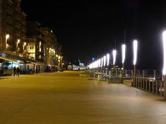 Evening in oostende (beach). by henri.van.den.abeele