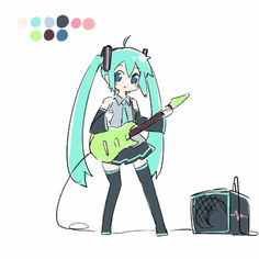 Miku .gif by Ayakashi It was good to have been able hopping than I thought