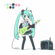 Miku .gif by Ayakashi