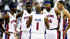 One of the best pistons team ever! Had some great years with this line up!