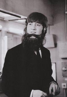 "1964 - John Lennon in A Hard Day's Night film. ""My name's Betty"""