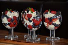 Berries and Mascarpone Cream