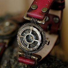 Pure handmade original design handcraft watch  GEO 3 for steampunk  art lover via Etsy