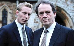 """Laurence Fox and Kevin Whatley """"Lewis"""""""