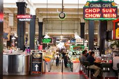 L.A.'s 97-year-old food hall is looking cooler than ever these days