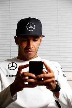 Off Track w/Lewis Hamilton before the 2014  #F1 German Grand Prix