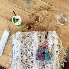 Boho lunch vibes at Ace Hotel Palmsprings ... Soukie Bedouin Love Bag