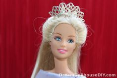 My own project! Adorable 'silver' tiara for Barbie, to make for a few cents. Real metal! No skills! Takes 10 minutes and is so..o.o cute.