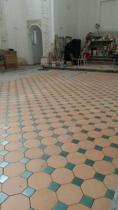 Pavimento in Cotto Siciliano COMED Ceramiche / Flooring Cotto Siciliano handmade #cottosiciliano #flooring #COMEDCeramiche #terracotta  #terracotta #palermo #sicily