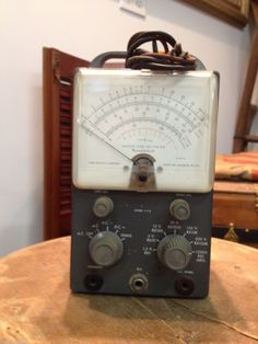 Vintage Heathkit Vacuum Tube Voltmeter Model V Steampunk Gears, Vacuum Tube, Tecno, Ham Radio, Tv, Antiques, Classic, Model, Vintage