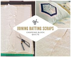 How to Join Batting Scraps