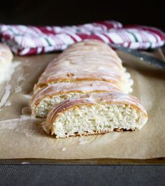 Cream Cheese Braids, sweet loaves of bread with a cream cheese filling. Easy to freeze.