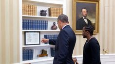 VIDEO: Kendrick Lamar Meets President Obama
