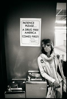 """The Rolling Stones' Keith Richards """"Patience Please For A Drug Free America"""" - Miniature Poster Prin The Rolling Stones, Keith Richards, El Rock And Roll, Rock N, Mick Jagger, Blues Rock, Jerry Schatzberg, Photo Star, We Will Rock You"""