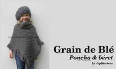 apparence modèle tricot poncho fille