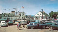Wolfeboro, NH - Mt. Washington - Dockside - 1955 Dodge Station Wagon - Circa 1955 | Flickr - Photo Sharing!