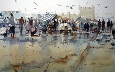 "Geoffrey Wynne Acuarelas - Watercolours: ""THE MAGIC OF WATERCOLOUR"", MARRUECOS - MOROCCO"