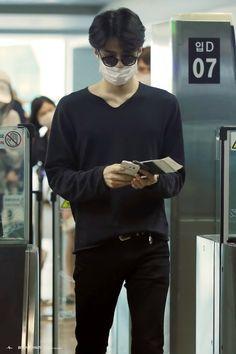 Sehun - 150622 Incheon Airport, arrival from Bangkok