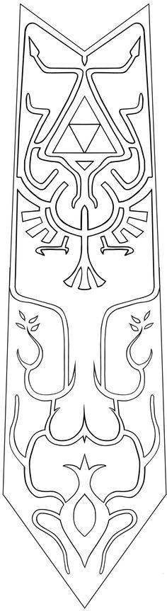 Twilight Princess Zelda Tabard Pattern by amethyst-marie.deviantart.com on @deviantART