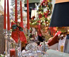 Decoracion navideña de interior.Christmas decoration of interior.
