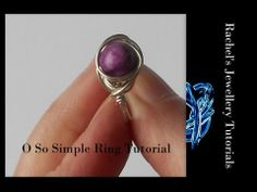 ▶ O So Simple ring - A Wire Wrap Tutorial - YouTube