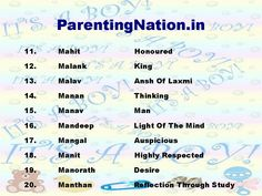 ParentingNationin Provide You With Largest Resource Of Baby Name Can Find The Sinh Rashi Boy Meanings From Ultimate Colle