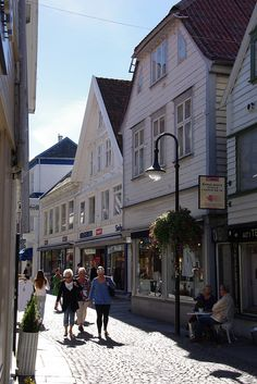 Shopping in Stavanger, Norway