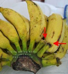 Não espere a banana madurar na penca, essa base doce atrai insetos.