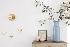 Appartement parisien vintage et bohème - Créatrice de robes de mariée Laure de Sagazan // Hëllø Blogzine blog deco
