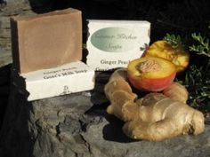 Ginger Peach Goat S Milk Soap By Summer Kitchen Soaps