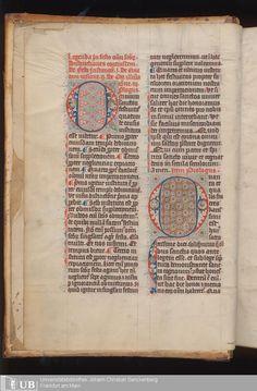 9 [2v] - Ms. Barth. 5 - Legendarium ecclesiae S. Bartholomaei Francfordensis (November - Dezember) - Page - Mittelalterliche Handschriften - Digitale Sammlungen
