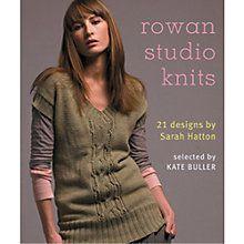 c781d687e5fda Buy Rowan Studio Knits Knitting Patterns Book Online at johnlewis.com Rowan  Knitting