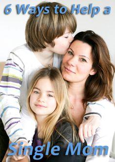 6 Ways to Help Out a Single Mom | iMOM