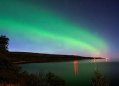 Northern light in Grand Marais, MN