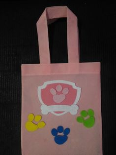 Cumple Paw Patrol, Reusable Tote Bags, Party, Mothers Day Crafts, Wooden Crafts, Paw Patrol Skye, Spices, Cakes, Personalized Tote Bags
